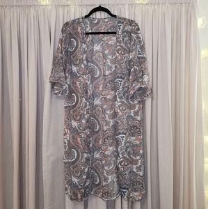 4/$20 SHEIN Floral Kimono